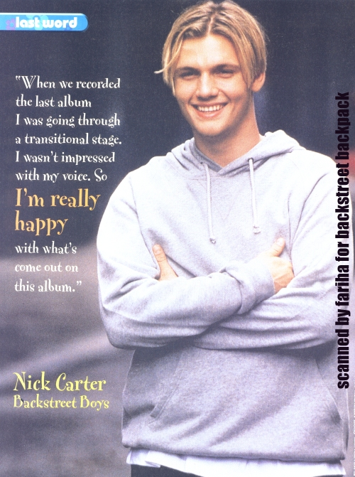 Nick Carter's quote #7