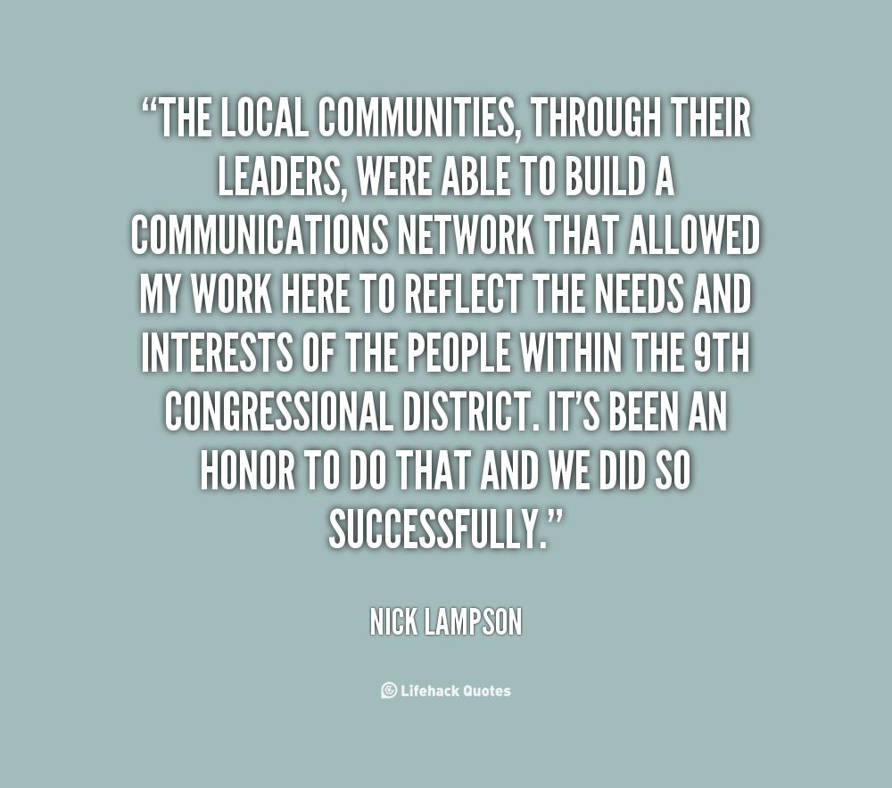 Nick Lampson's quote #5