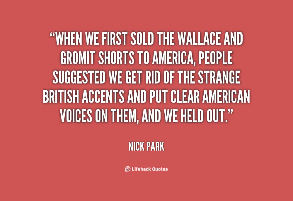 Nick Park's quote #3