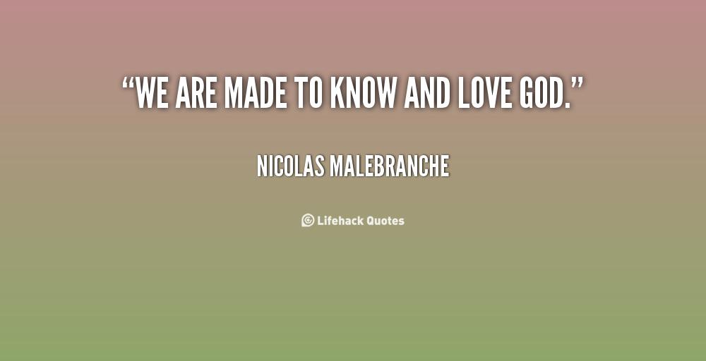 Nicolas Malebranche's quote #4