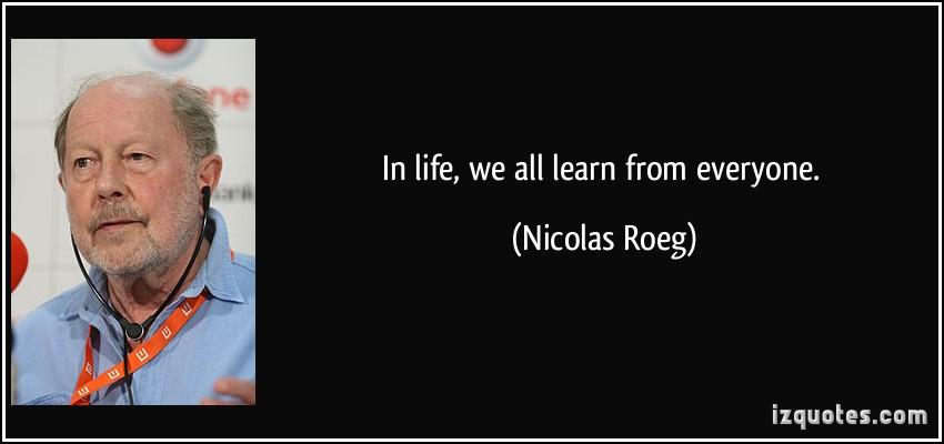Nicolas Roeg's quote #1