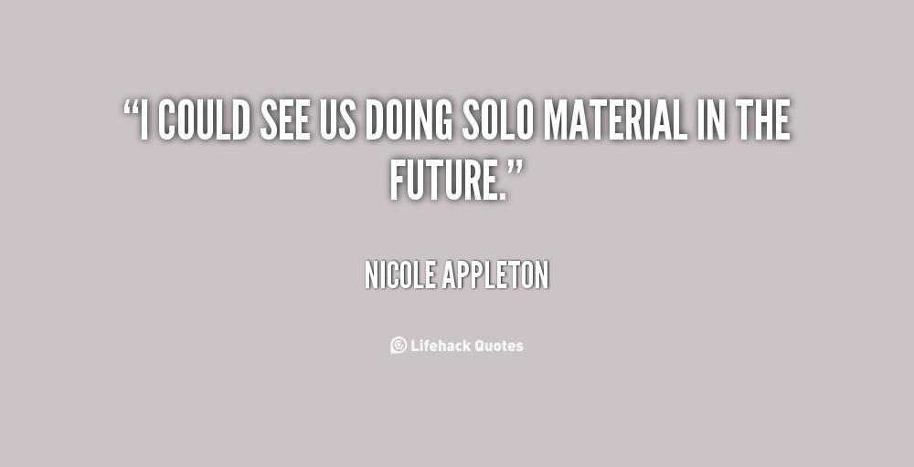 Nicole Appleton's quote #3
