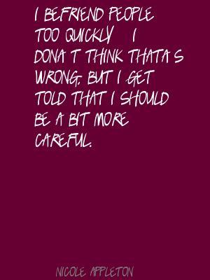 Nicole Appleton's quote #5