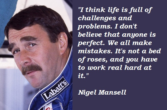 Nigel Mansell's quote #2