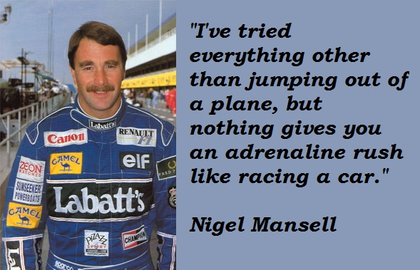 Nigel Mansell's quote #6