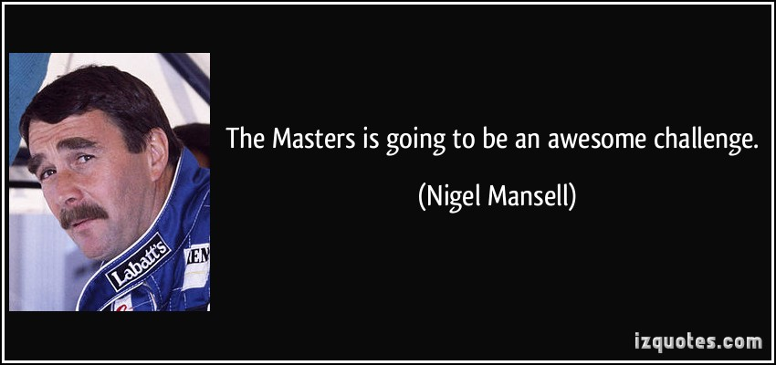Nigel Mansell's quote #5