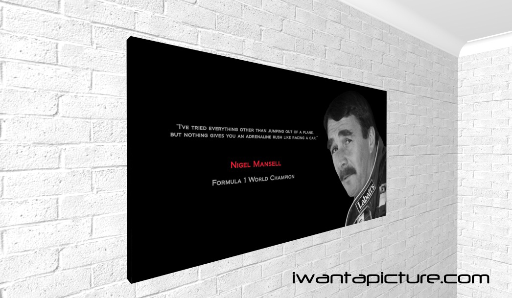 Nigel Mansell's quote #7