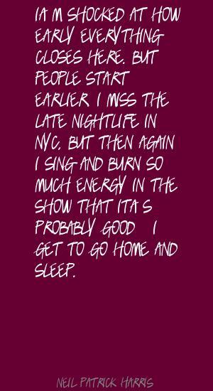 Nightlife quote #1