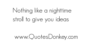Nighttime quote #2
