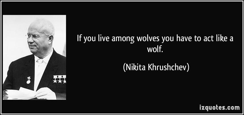 Nikita Khrushchev's quote #1