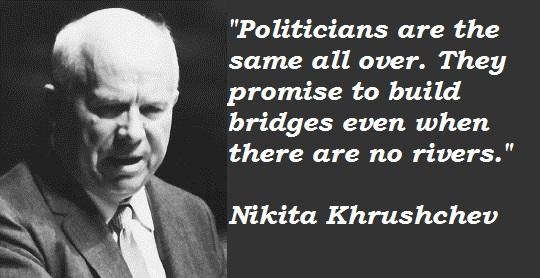 Nikita Khrushchev's quote #3