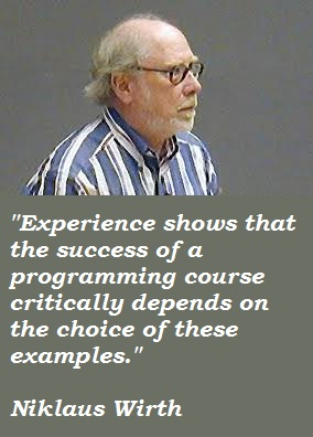 Niklaus Wirth's quote #1