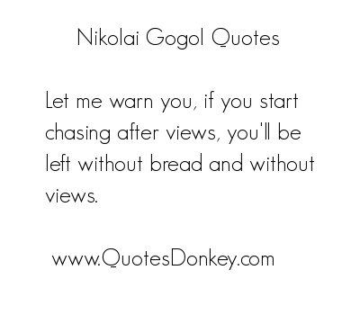 Nikolai Gogol's quote #1