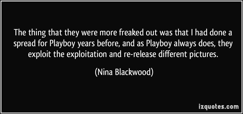Nina Blackwood's quote #1
