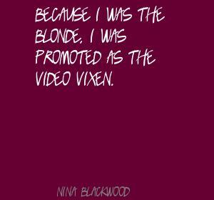 Nina Blackwood's quote #3
