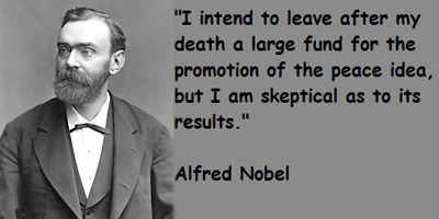 Nobel Prize quote