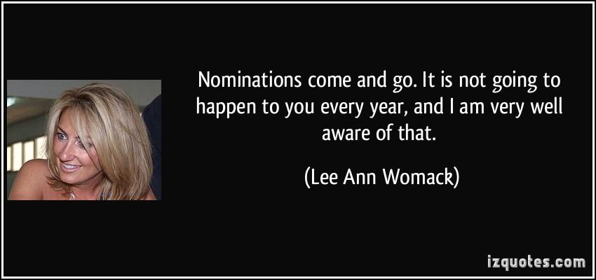 Nominations quote #2