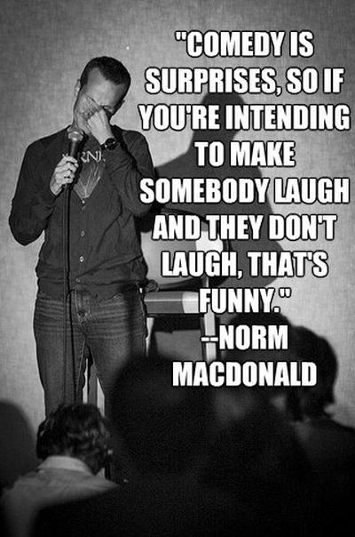 Norm MacDonald's quote #4
