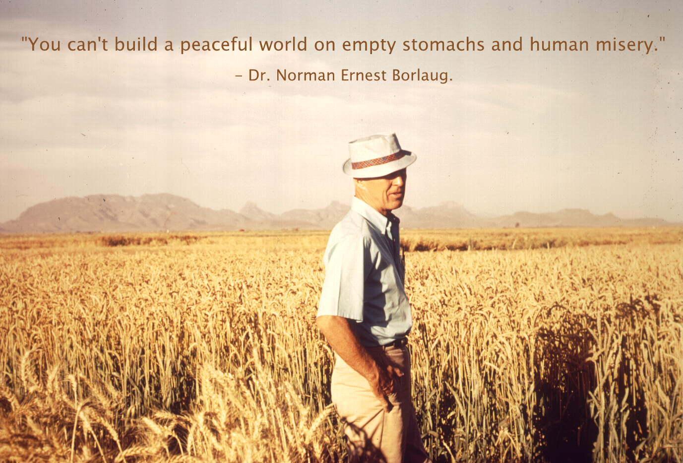 Norman Borlaug's quote #1