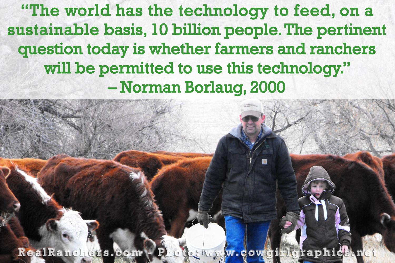 Norman Borlaug's quote #7