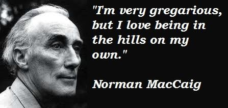 Norman MacCaig's quote #5
