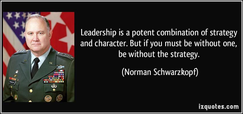 Norman Schwarzkopf's quote #5