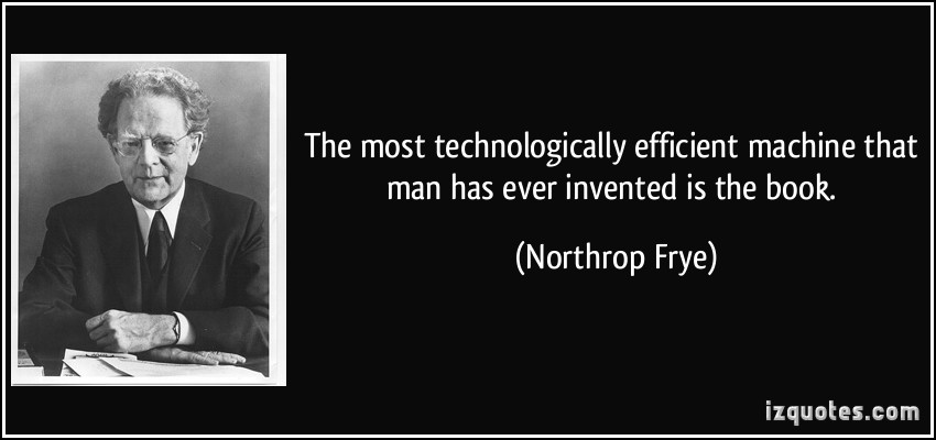 Northrop Frye's quote #2