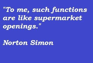 Norton Simon's quote #3