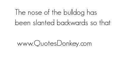 Nose quote #7