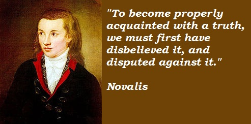 Novalis's quote #5