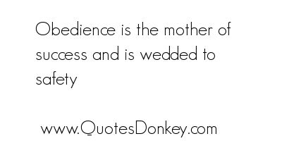 Obedience quote #2