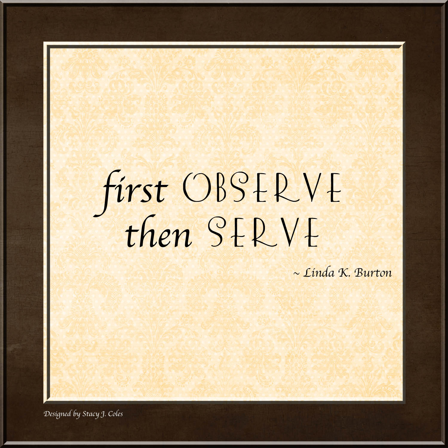 Observe quote #2