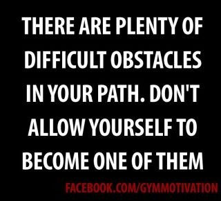 Obstacle quote #2