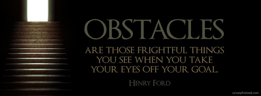 Obstacles quote #2