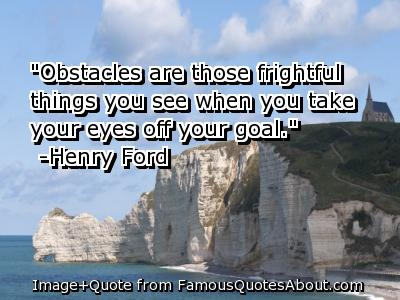 Obstacles quote #5