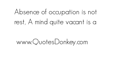 Occupation quote #5