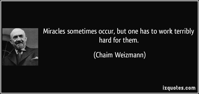 by definition miracles do not occur No doubt, heavenly miracles do occur miracles come in many forms not just medical or in healing form even if we adopt the relaxed definition of something that is almost impossible happening, simple mathematics shows that the almost impossible happens countless times every single day.