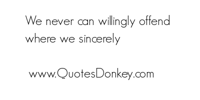 Offend quote #2