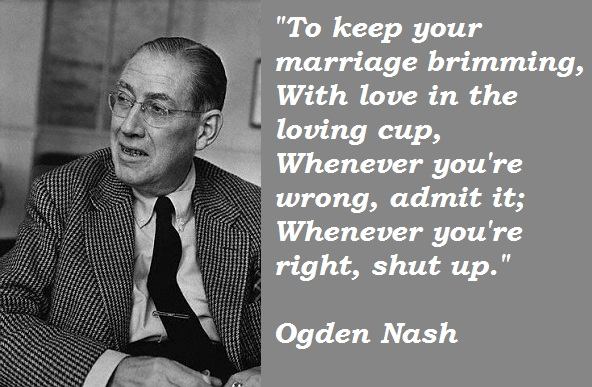 Ogden Nash's quote #2