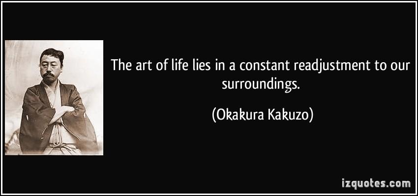 Okakura Kakuzo's quote #1