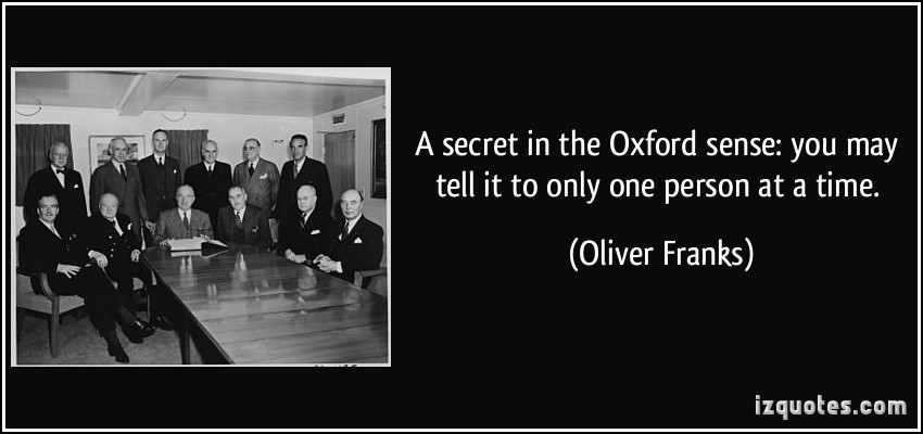 Oliver Franks's quote #1