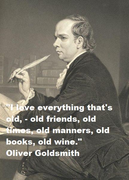 Oliver Goldsmith's quote #6