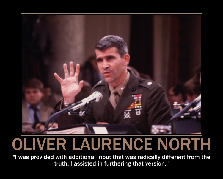 Oliver North's quote #1
