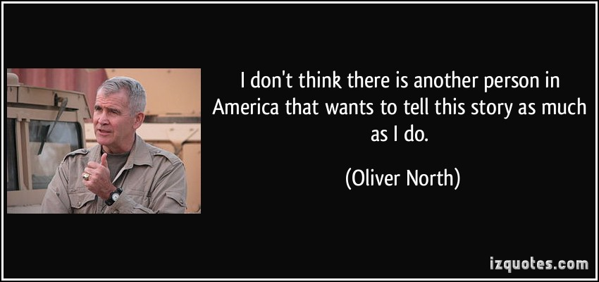 Oliver North's quote #4