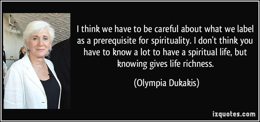Olympia Dukakis's quote #7