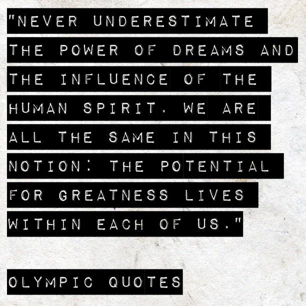 Olympics quote #8