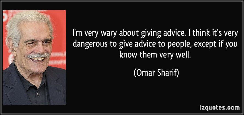 Omar Sharif's quote