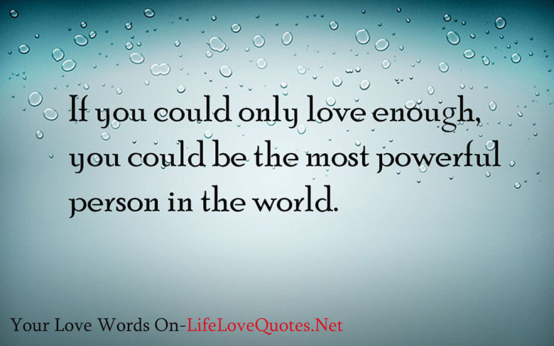 Only Love quote #1