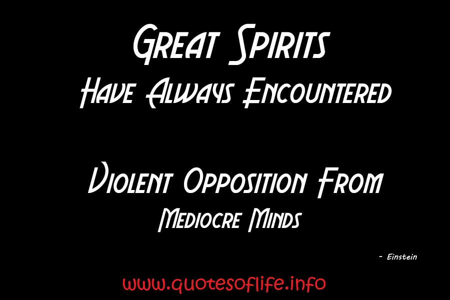 Opposition quote #5