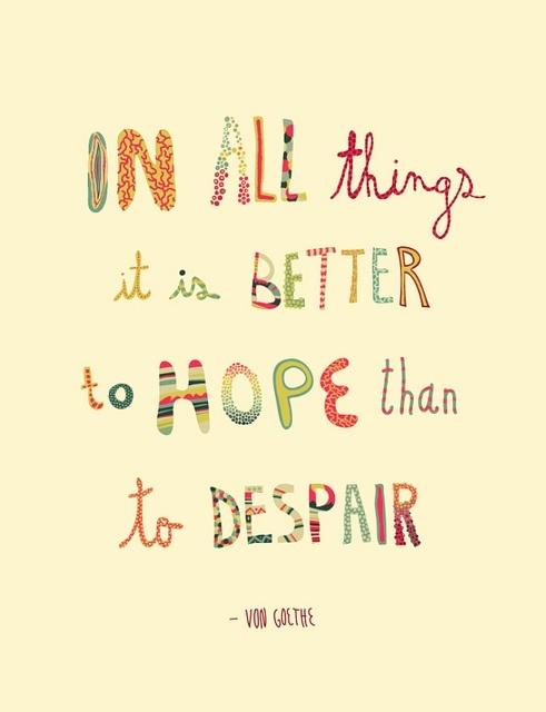 Optimistic quote #1